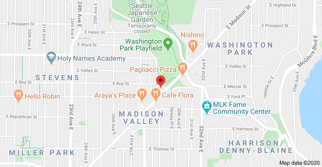 Map - 2914 E Madison St Unit #203, Seattle